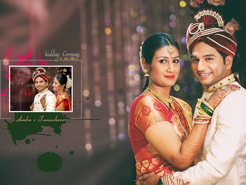 Tanushree And Ambu, Wedding Story cover photo