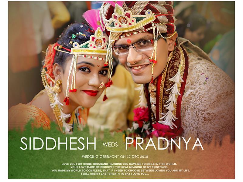 Siddhesh & Pradnya, Wedding Story cover photo