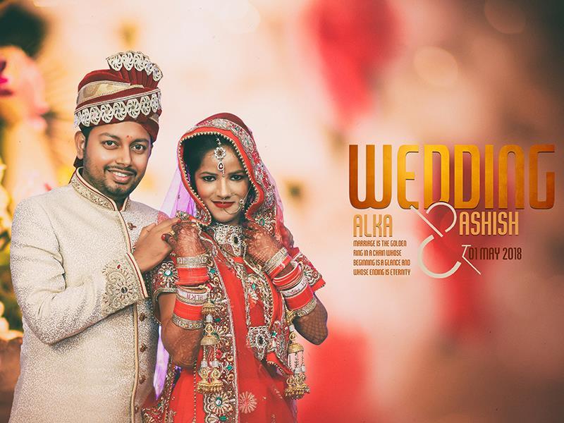 Alka & Ashish, Wedding Story cover photo