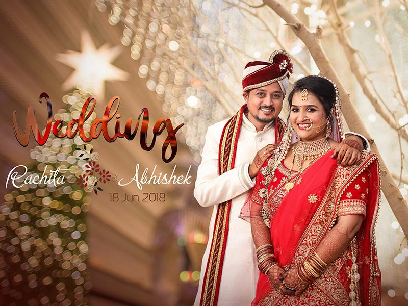 Rachita & Abhishek, Wedding Story cover photo