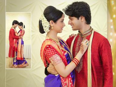 Monica & Sagar, Wedding story photos