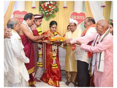 Rachita & Abhishek, Wedding story photos