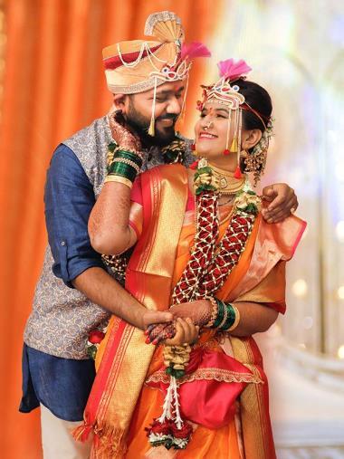 Prachi Weds Mangesh, Wedding story photos