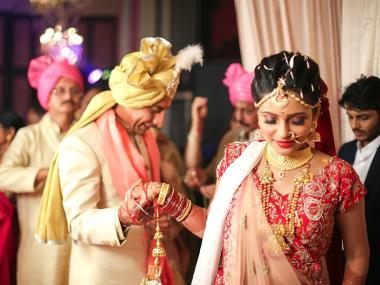 Pooja & Haresh, Wedding story photos