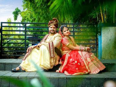 Ravi & Poonam, Wedding story photos
