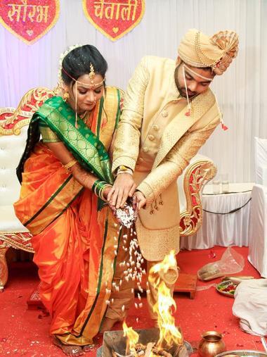 Saurabh & Chaitali, Wedding story photos