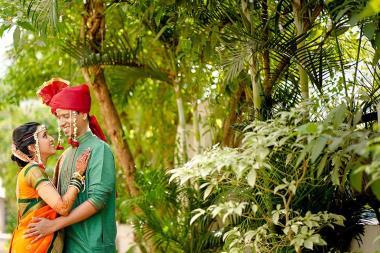Satish & Nikita, Wedding story photos