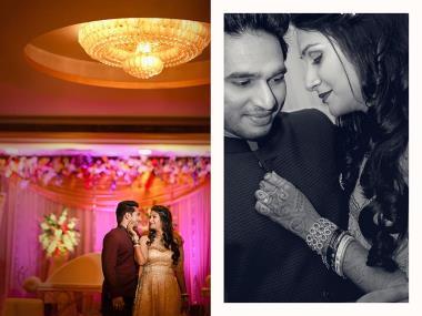 Tanushree And Ambu, Wedding story photos