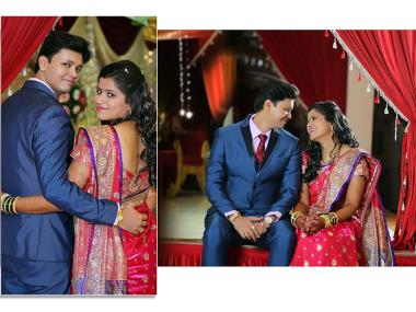 Vivek And Shrutika, Wedding story photos