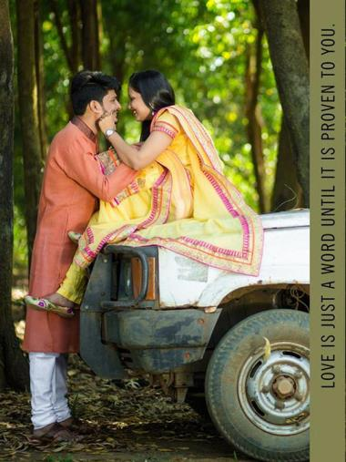Rinkesh And Pooja, Pre-Wedding story photos