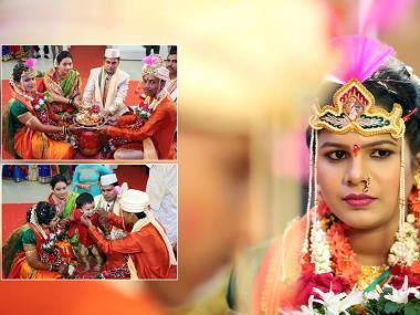 Rahul And Seema, Wedding story photos