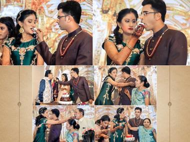 Richa & Ashiq, Wedding story photos