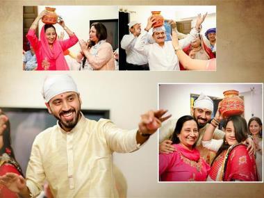 Rahul & Rakhi, Wedding story photos